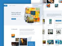 Paintings microsite