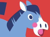 Shocked Horse