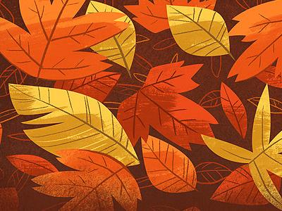 Leaves illustration leaf leaves autumn