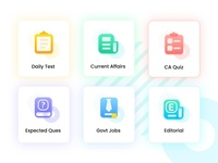 Exam Icon Set