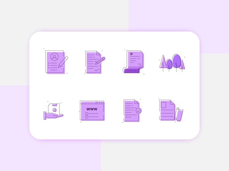 Icon Set app icon draft hand education education icon notepad icon notepad note note icon ui icon icon set icon