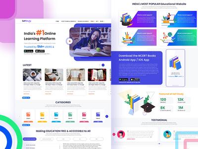 Self Study E-learning Website