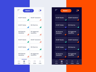 Mobile app screen (Day & Night Mode)