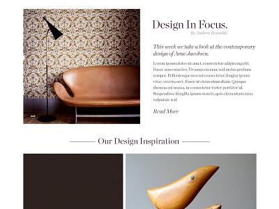 Curtis Pitch Work furniture editorial pitch ink digital