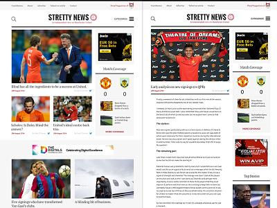Stretty News football man u blog
