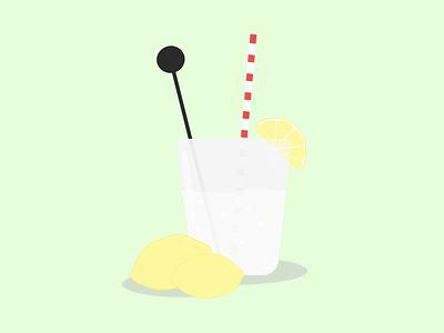 Gin & Tonic illustration