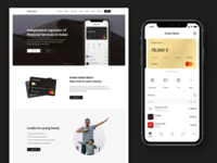 Dubai Bank Mobile App & Website