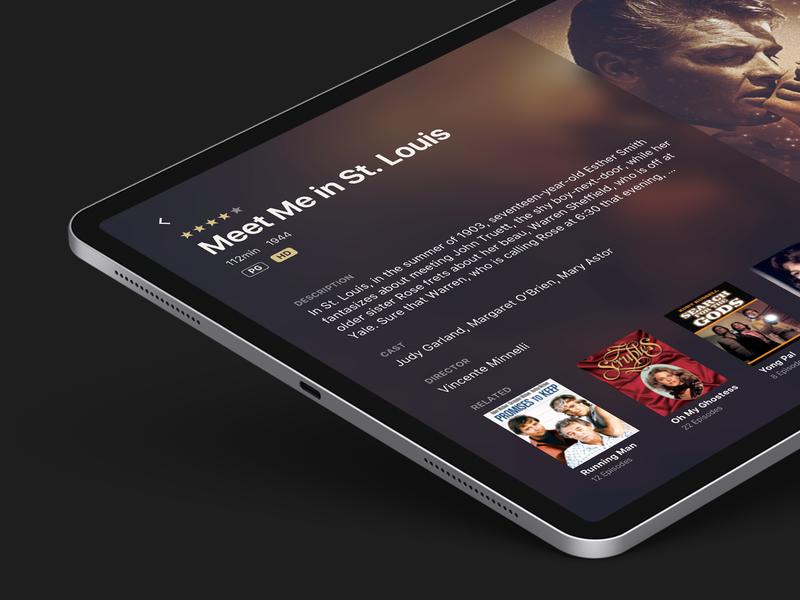 Warner Archive ipadpro ipad apple interface app ux ui design ios