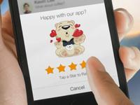 """Rate Us"" for myChat Messenger"