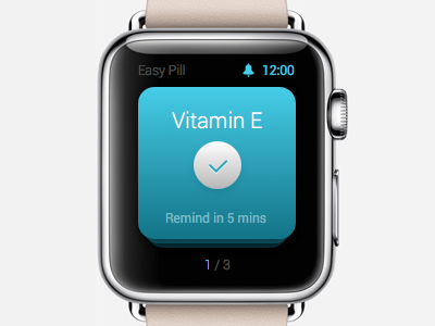 Easy Pill App for Apple Watch