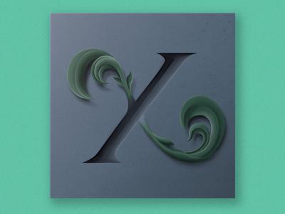 X type branding vector photoshop design illustration typography lettering