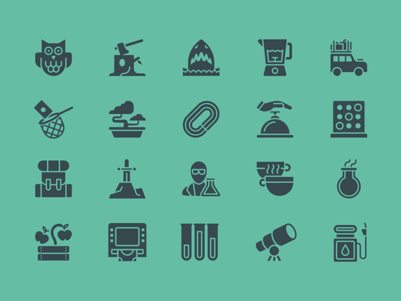 Architas Icon set illustrator design app digital icon artwork iconography pictogram ui branding vector design icon