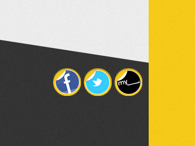 Social Media Icons By Aaron Allen On Dribbble