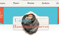 Unique Handmade Scarves