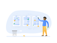 Design process - Dot voting