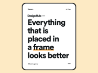 Tips - Place in the Frame
