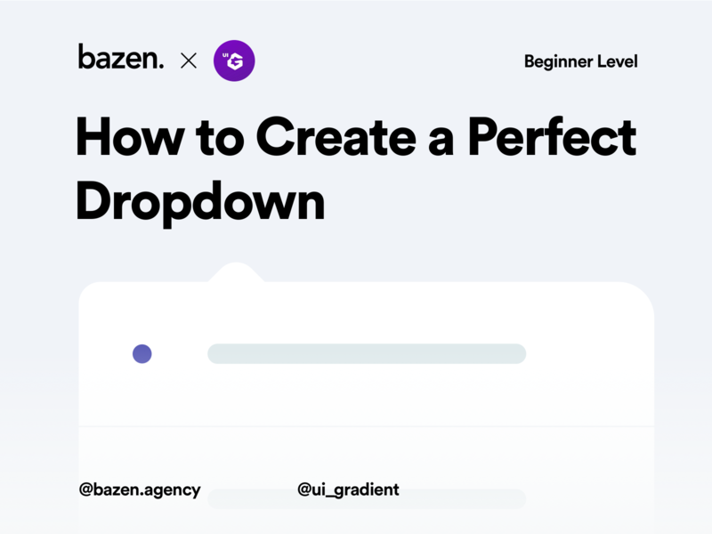 How to Create a Perfect Dropdown designagency userexperiencedesign userexperiance userexperience uxdesign ux design user interface ui user interface design userinterface designthinking tips design tips design tip product design design agency dropdown ui design uidesign