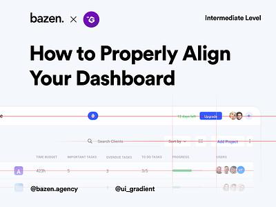 UI Tip - Dashboard alignment alignment dashboard uxuidesign uxdesigner uxdesign uxui design tips uiux design ui  ux ui design uiuxdesigner uidesigner uiuxdesign design tip designtips uidesigns uidesign ux uiux ui