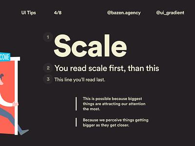 UI Tip - Visual Hierarchy in Design userinterface userexperiencedesign userexperience uiuxdesigner designerlife learn design typography design typography design tips design tip uxdesign uxui ux uiuxdesign uidesigner ui  ux uiux uidesign ui design ui