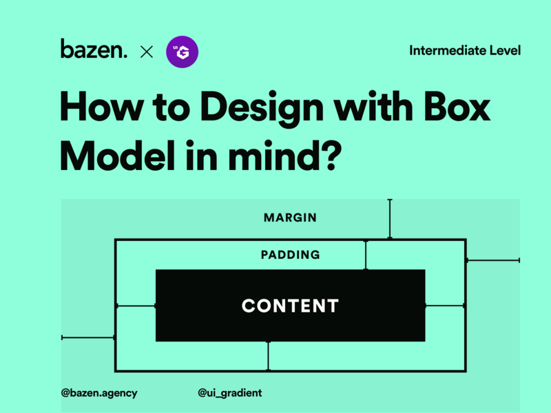 UI Tip -  Box Model