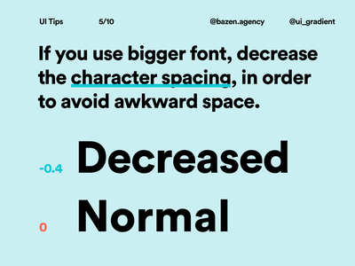 UI Tip - How to Improve Typography in Your IG Posts uidesigns uxdesign typographic typography design designerlife uiuxdesigner uiuxdesign uiux userexperiencedesign userexperience userinterfacedesign typographydesign typography uidesign ui designtips design tips design tip designagency design agency