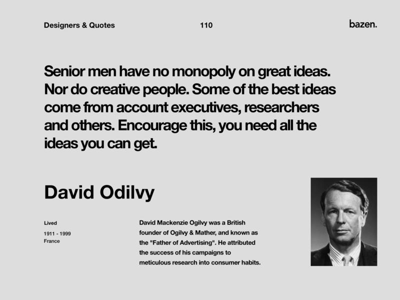 Quote - David Odilvy