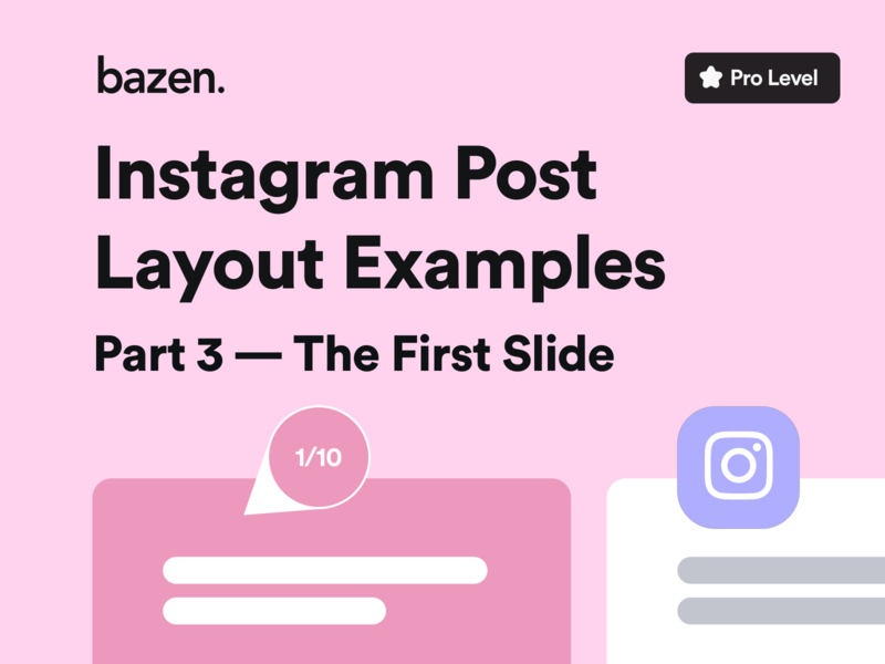 UI Tip -Instagram Post Layout Examples - The First Slide dailyui instagram design instagram post howto layout design design layout uiux designer uiuxdesigner uiux design ui design uidesign ui  ux uiuxdesign uiux ui designtips design thinking design tips design tip design agency