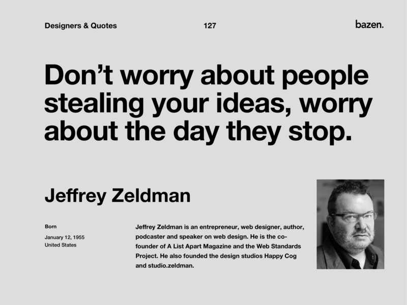 Quote - Jeffrey Zeldman uixdesign ui design uidesign uiux design uiuxdesign uiux ui motivational quotes motivationalquote motivational inspirational quotes inspirational quote inspirational quote design design tips design tip designtips design quotes design quote design agency