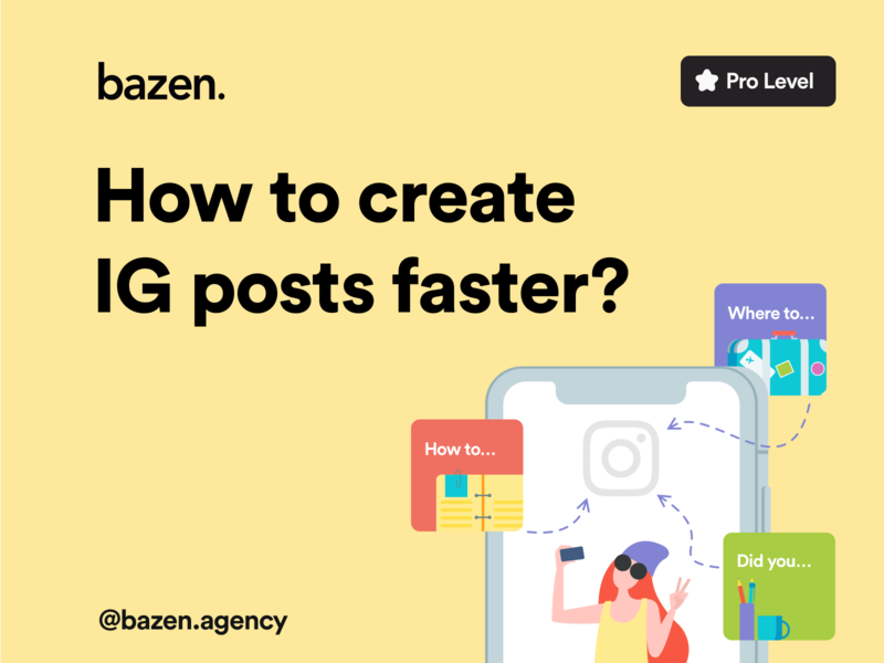 UI Tip - How to Create IG Posts Faster