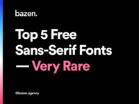 UI Tip - Top 5 Free Sans Serif Fonts ui design uidesign sans serif typeface sans serif fonts sans-serif typography design typography ui design uiux design ui designtips design tips design tip fonts design fonts font design font family sans serif font sans serif sansserif