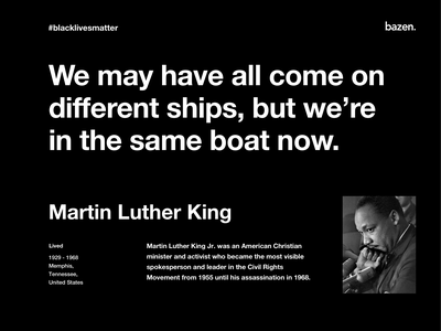 Quote - Martin Luther black lives matter inspirational quotes inspirational quote motivational quotes motivationalquote motivational design thinking design agency quote design design quotes design quote martin luther king jr martin luther king martin luther