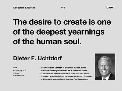Quote - Dieter F. Uchtdorf inspirational quotes motivationalquote uiuxdesigner uiux design uiuxdesign quotes design quote design tip design quotes ui design motivational quotes design tips ux product design inspirational quote ui quote design