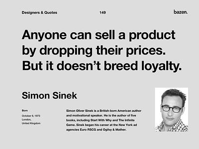 Quote Simon Sinek uiux ui design ux ui quoteoftheday simon sinek motivations design tips design agency motivational quotes design quotes inspirational quote quote design