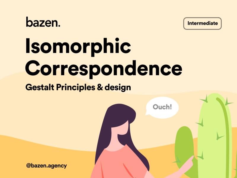 UI Tip - Isomorphic Correspondence illustration design principles gestalt design tips design tip uiuxdesigner uiuxdesign uxdesigner ux design uxdesign uidesigner ui design uidesign uiux ui
