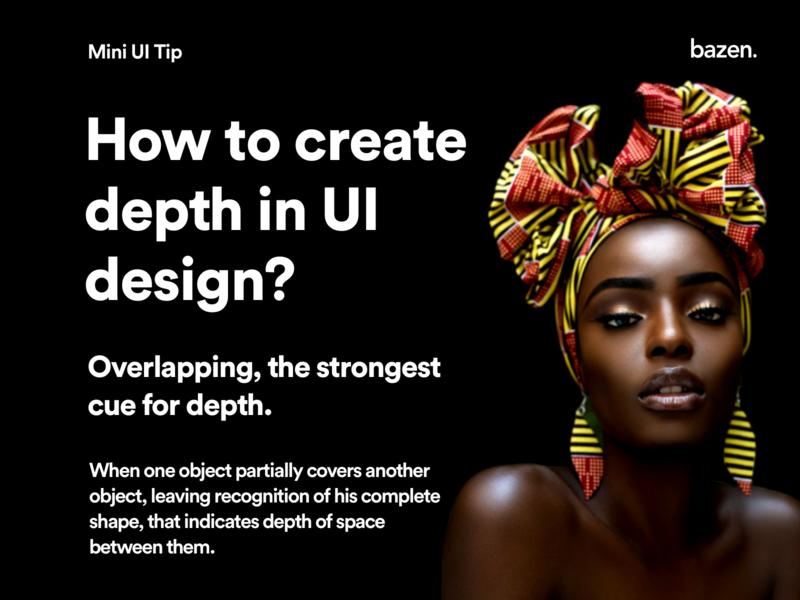 Mini UI Tip - How to Create Depth in UI? design principles design thinking depth of field depth user experience userexperience userinterface design userinterfacedesign userinterface uiuxdesigner uiuxdesigns uiuxdesign uiux uidesigns uidesigner uidesign ui