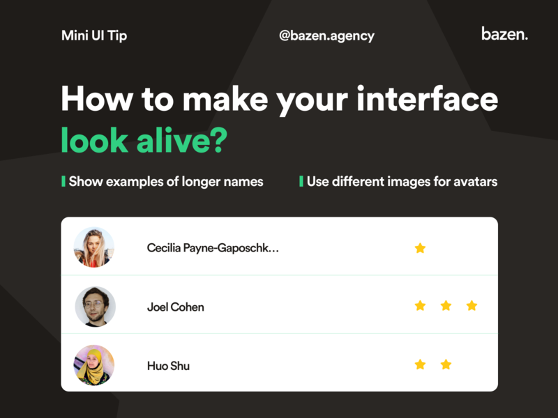 UI Tip - How to make your interface look alive design tips design tip designtips userinterfacedesigner userinterface design userinterfacedesign user interface userinterface uxdesigner uxdesign uidesigns uidesigner uidesign ux ui