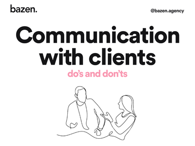 Communication with a client bazen agency sales salesforce client meetings meetings communicate product design communication design communication management uxdesign ux design ui design uidesign ui ux client work client management