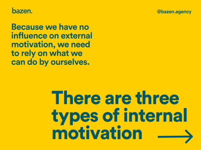 Design tip - How to motivate youself designer inspiration motivation bazen agency design agency ux design uiux product design ui design design tip ux design tips ui