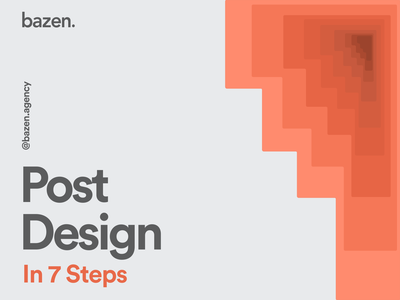 Design Tip - Create a post in 7 steps graphic design design elements layout exploration layout design design principles instagram post post design uiux ui design design tip ux design tips ui