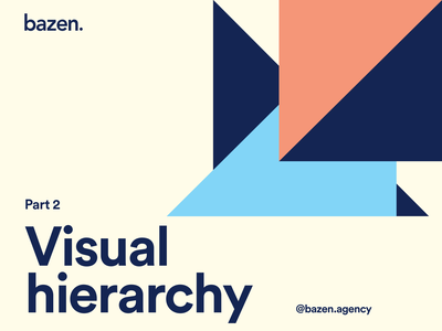 Design Tip - Visual hierarchy 2 visual hierarchy hierarchy graphic design ui designer user experience user interface layout design layout exploration design thinking design principles illustration uiux ui design design tip ux design tips ui