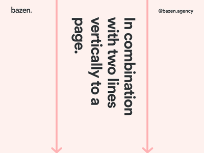 Design Tip - The rule of thirds design agency uiux ui design ux design tips ui content design photography graphic design bazen agency layout exploration layout design layout design tip design principles rule of thirds