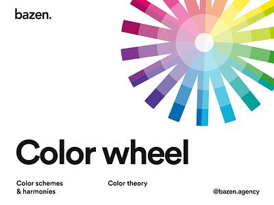 Design Tip - Color wheel color design tools design principles brand ide brand branding layout layout exploration bazen graphic design illustration design uiux ui design design tip ux design tips ui