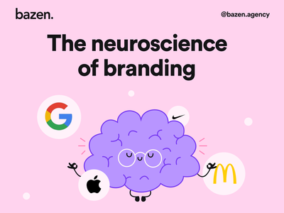 Design Tip - The neuroscience of branding Part 1 daily ux daily ui design process brand layout brand identity brand design branding design design agency bazen agency branding graphic design illustration design uiux ui design design tip ux design tips ui