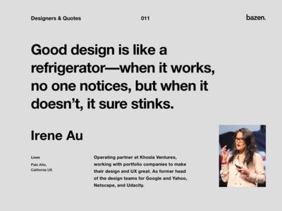 Quote - Irene Au