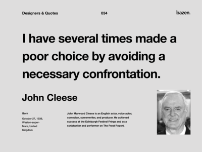 Quote - John Cleese