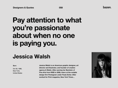 Quote - Jessica Walsh