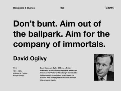 Quote - David Ogilvy