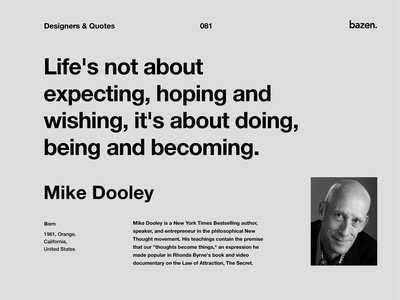 Quote - Mike Dooley ux ui design uxui learn design learn tip design tips ui design ux design design quotes quote motivational quotes inspirational quote quotes quote design tips inspiration ui principles product design ux