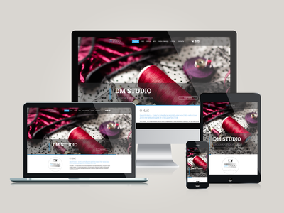 Tailoring on-line courses - responsive web site - dmstudio.by