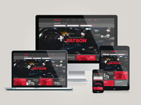 Responsive brand's web site - patron.ru